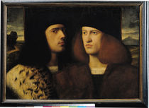 Portrait of Two Young Men von Italian School