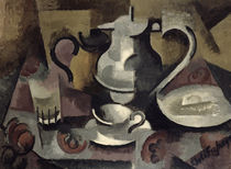 Still Life with Three Handles by Roger de La Fresnaye