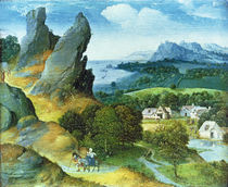 Landscape with the Flight into Egypt by Joachim Patinir