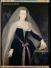 Agnes Sorel Favourite of Charles VII von French School