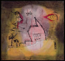 Chapel quaking, 1924 von Paul Klee