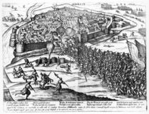 The Siege of Cambrai, September 1581 von French School