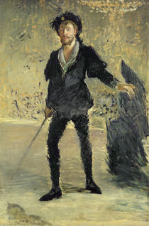 Jean Baptiste Faure in the Opera 'Hamlet' by Ambroise Thomas von Edouard Manet