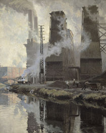 Power Station at Croix-Wasquehal by Hippolyte Lety