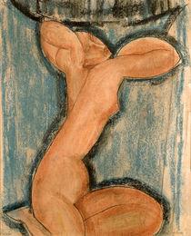 Caryatid, 1911 by Amedeo Modigliani