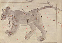The Great Bear, from the Book of the Stars after El Hussein by Persian School