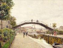 The Saint-Martin Canal von Marie Francois Firmin-Girard