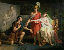 Alexander the Great Hands Over Campaspe to Apelles by Charles Meynier