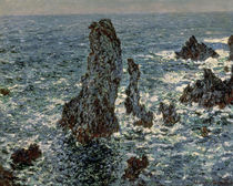 The Rocks at Belle-Ile, 1886 by Claude Monet
