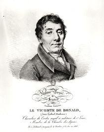 Louis, Vicomte de Blonald 1820 von French School