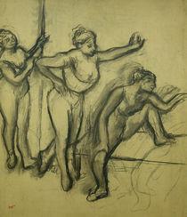 Three Dancers, c.1900 by Edgar Degas