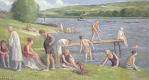 Bathers on the Banks of the Seine von Maximilien Luce