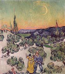 Moonlit Landscape, 1889 von Vincent Van Gogh