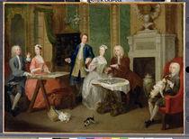 Portrait of a Family, 1730s von William Hogarth