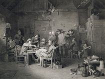 The Village Politicians, engraved by Abraham Raimbach by David Wilkie