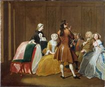 The Harlowe Family, from Samuel Richardson's 'Clarissa' von Joseph Highmore