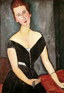 Madame G. van Muyden, 1917 by Amedeo Modigliani