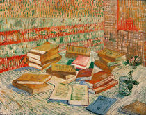 The Yellow Books, 1887 by Vincent Van Gogh