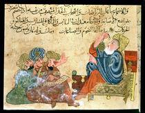 MS Ahmed III 3206 Aristotle teaching von Turkish School