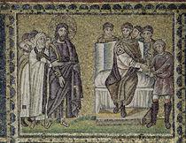 Jesus before Pontius Pilate von Byzantine School