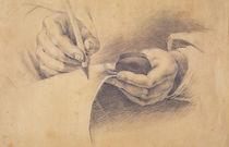 Drawing Hands, 1798 von Philipp Otto Runge