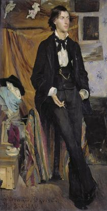 Portrait of Henry Davison, 1880 by Marie Louise Catherine Breslau