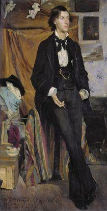 Portrait of Henry Davison, 1880 von Marie Louise Catherine Breslau