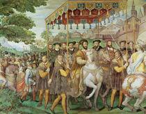 The Solemn Entrance of Emperor Charles V von Taddeo & Federico Zuccaro