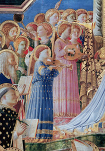 The Coronation of the virgin by Fra Angelico