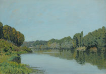 The Seine at Bougival, 1873 von Alfred Sisley