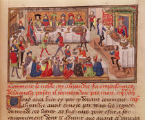 Fol.298r How the Noble King Alexander was Poisoned by French School