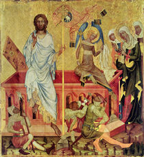 Resurrection of Christ, c.1350 von Master of the Cycle of Vyssi Brod