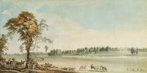 North West View of Wakefield Lodge in Whittlebury Forest by Paul Sandby