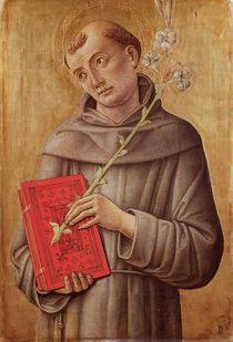 St. Anthony of Padua by Bartolomeo Vivarini