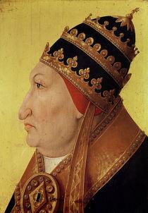 Portrait of Rodrigo Borgia Pope Alexander VI by German School