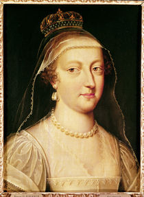 Portrait of Anne of Austria by Frans II Pourbus