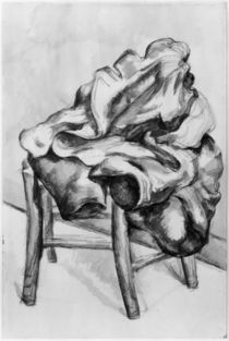 Drapery on a Chair, 1980-1900 von Paul Cezanne