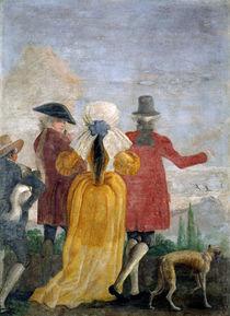 The Walk, c.1791 von Giandomenico Tiepolo