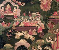 Parinirvana, from 'The Life of Buddha Sakyamuni' von Tibetan School