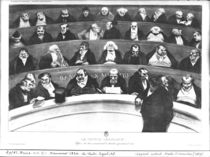The Stomach of the Legislature by Honore Daumier