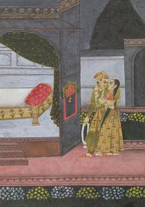 A Couple, illustration from the 'Malavi Ragini' von Indian School