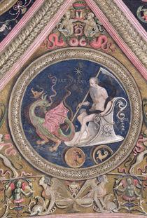 Saturn, from the Sala dell'Udienza von Pietro Perugino