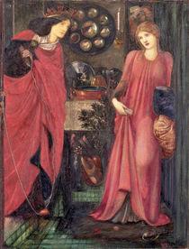 Fair Rosamund and Queen Eleanor by Edward Coley Burne-Jones