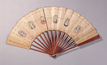 Fan depicting characters involved in the Affaire du Collier by French School