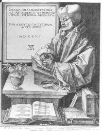 Desiderius Erasmus of Rotterdam by Albrecht Dürer