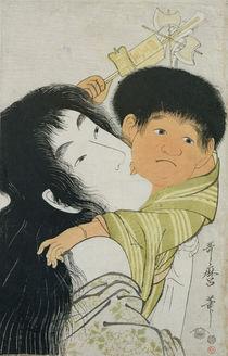 Yama-Uba and Kintoki von Kitagawa Utamaro