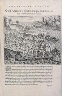 The East Indies according to Amerigo Vespucci von Italian School