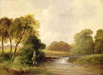 Fishing: Playing a Fish by William E. Jones