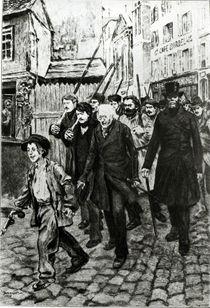 Gavroche Leading a Demonstration von Pierre Georges Jeanniot