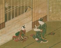 Interior scene, c.1730 by Moromasa
